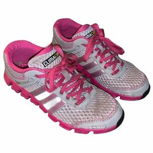 Pink & Grey Adidas Climacool Sneakers